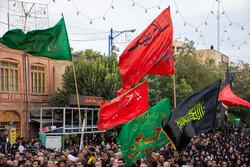 تجمع عظیم عزاداران حسینی در ارومیه