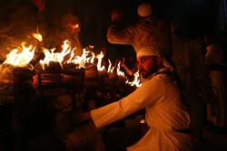 قم میں مقیم نجفیوں نے مشعل گردانی کی تقریب منعقد کی