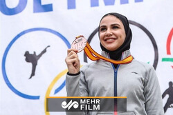 VIDEO: Winning gold medal at World Karate League by Sara Bahmanyar