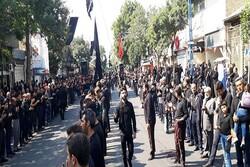 مردم آذربایجان غربی در تاسوعای حسینی اشک ماتم ریختند