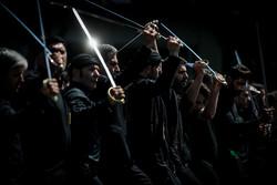 مراسم عزاداری تاسوعای حسینی در منیریه تهران