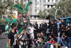 تہران کے منیریہ محلہ میں عزاداری کے شاندار جلوے