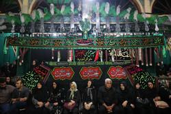 عزاداری تاسوعای حسینی در تکیه تجریش تهران