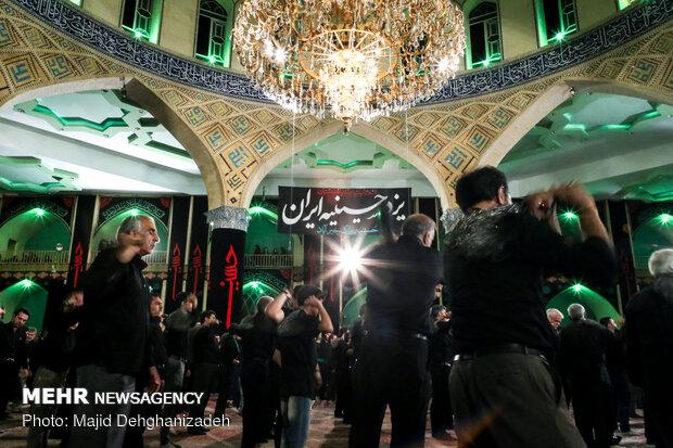 عزاداری هیئات مذهبی در حسینیه خیرآباد یزد