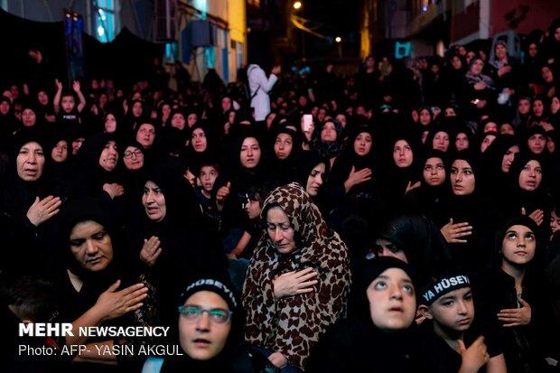 عزاداری ایام شهادت ابا عبدالله الحسین (ع) در ترکیه