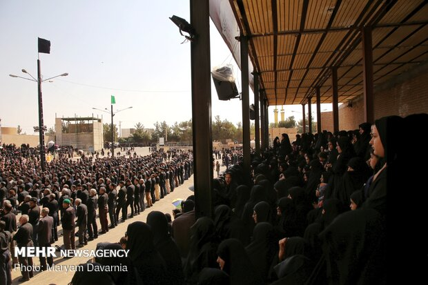 عزاداری تاسوعای حسینی در جاجرم