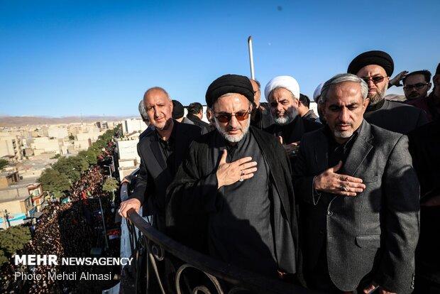 مراسم عزاداری حسینیه اعظم زنجان از مرزهای جغرافیایی عبور کرده است