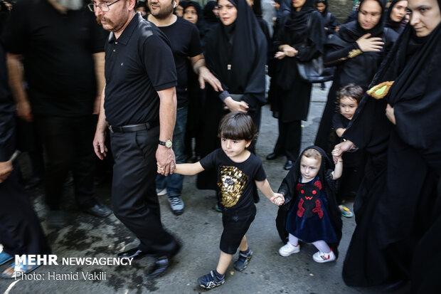 عزاداری تاسوعای حسینی با حضور اقلیت های مذهبی