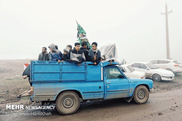 Şah-ı Şehidan köyünde Tasua merasimi