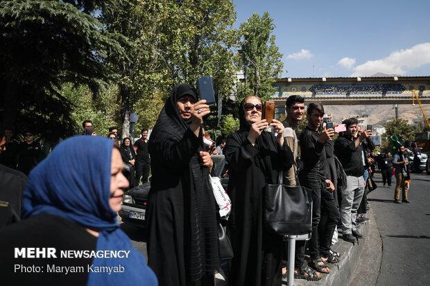 عزاداری تاسوعای حسینی در تهران