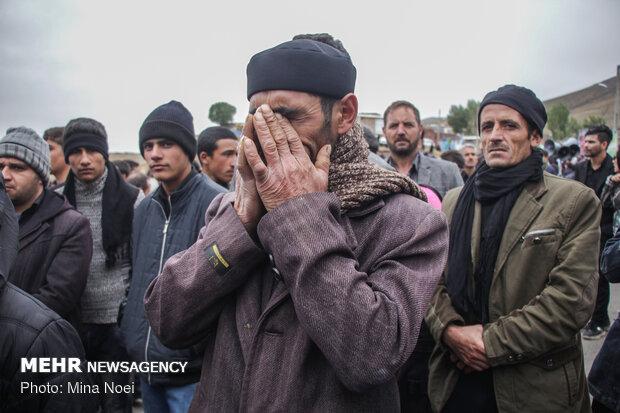 مراسم تاسوعای حسینی در شهرستان ورزقان