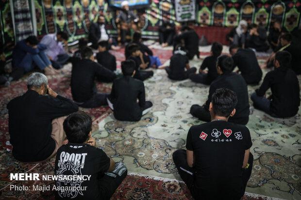 عزاداری مهاجران افغانستانی در جنوب تهران