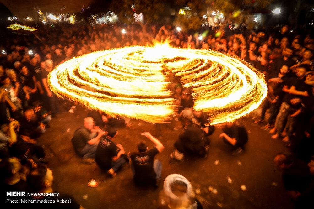 Tahran'da Muharrem ayı etkinlikleri devam ediyor