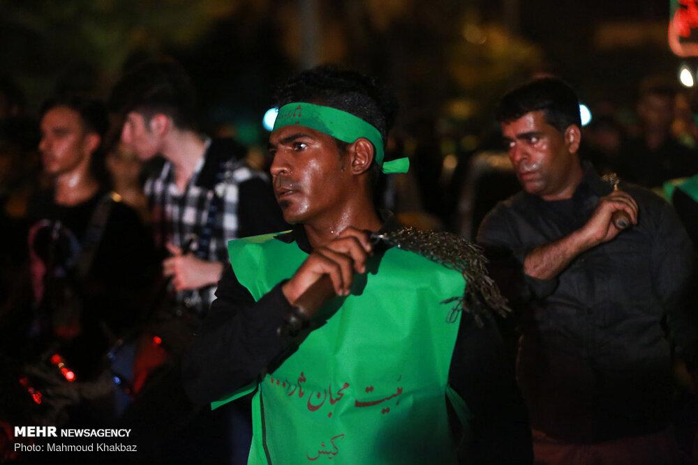 عکس | شب تاسوعای ۹۸ در کیش
