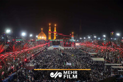VIDEO: Young Iranian couple get married in Karbala