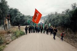 İran'ın kuzeyinde Aşura matem merasimi