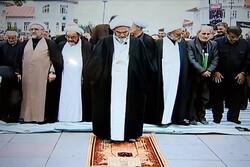 نماز ظهر عاشورا در رشت اقامه شد