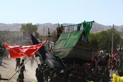عزاداری عاشورای حسینی در روستای برزنون نیشابور