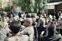 عزاداران حسینی در شهر سیلزده «پلدختر» اشک ماتم ریختند