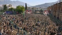 خرم آباد میں میں کربلا کے شہداء کی یاد میں عزاداری