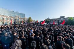 عزاداری عاشورای حسینی در حسن آباد تهران