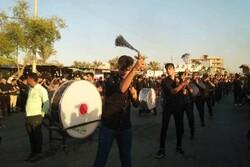 تجمع عزاداران حسینی در گناوه برگزار شد
