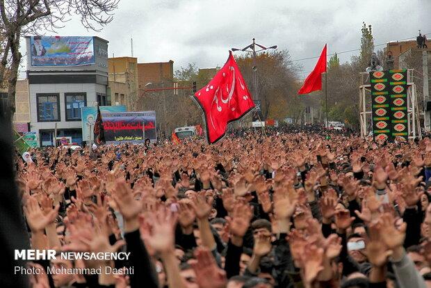 اشک ماتم اردبیلیها در عاشورای حسینی