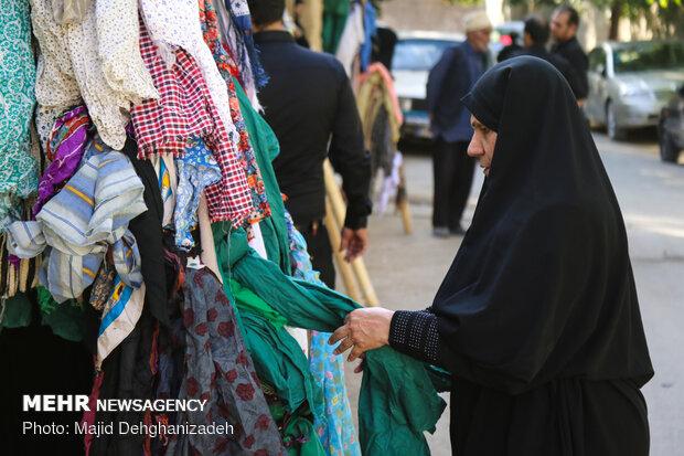 Yezd'de geleneksel Tasua merasimi