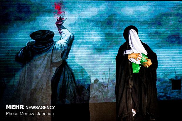 اجرای تعزیه شهادت امام حسین (ع) در اهواز
