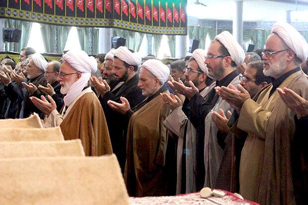سوگواران حسینی در سرزمین آفتاب نماز ظهر عاشورا را اقامه کردند
