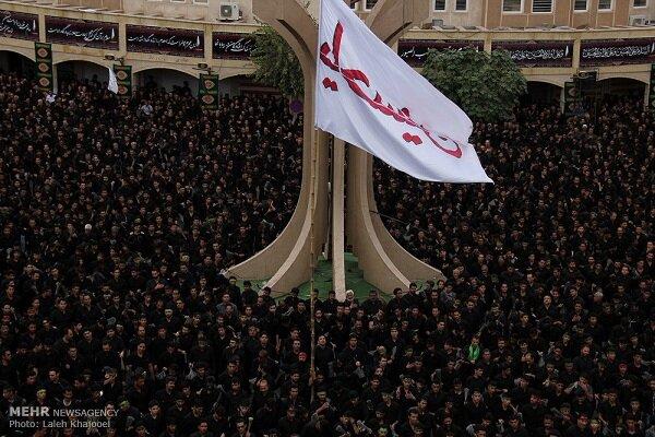 عزاداری گسترده مردم بم در عاشورای حسینی