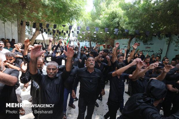 عزاداری عاشورای حسینی در جزیره قشم