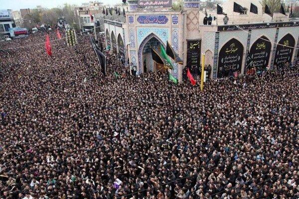 اجتماع بزرگ عزاداران اردبیلی برگزار شد