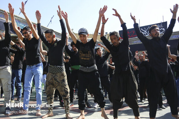 عزاداری افغانستانی های مقیم قم