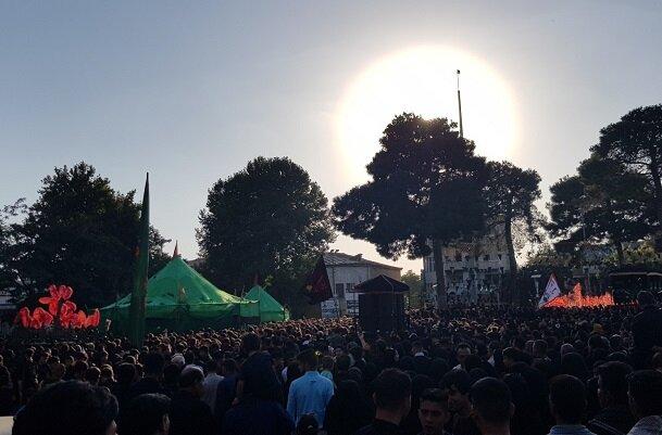 آیین «خیمهسوزان» در کرمانشاه برگزار شد