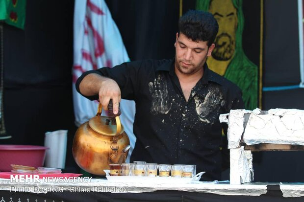 عزاداری تاسوعا و عاشورای حسینی در آبادان