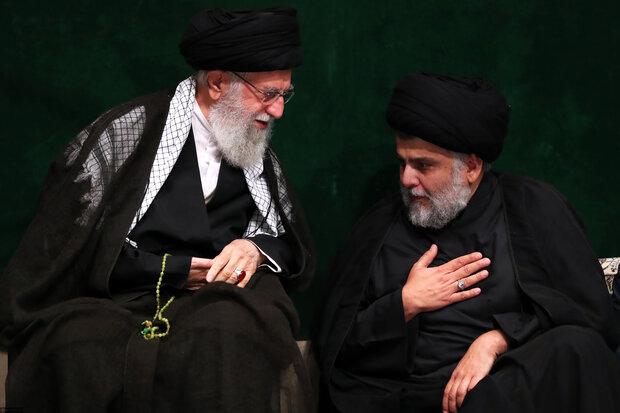 رہبر معظم انقلاب اسلامی کی موجودگی (رہ)  میں مجلس شام غریباں منعقد