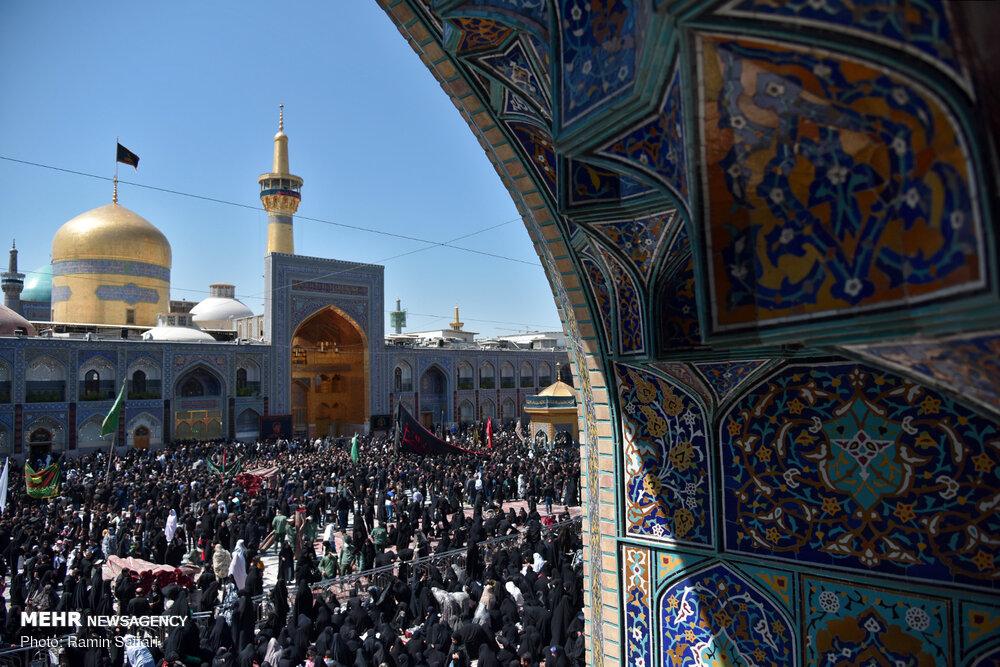 مشاهد من إحياء العاشر من محرم في إيران