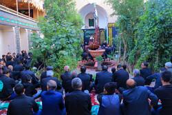 بیرجند میں حسینیہ تہہ گود میں عزاداری