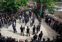 İran'daki Aşura matem merasiminden kareler