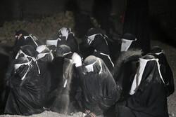 مراسم شام غریبان امام حسین(ع) در هشت بندی هرمزگان