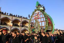 'Nakhl Bardari' rituals in Ashura Day in Mehriz