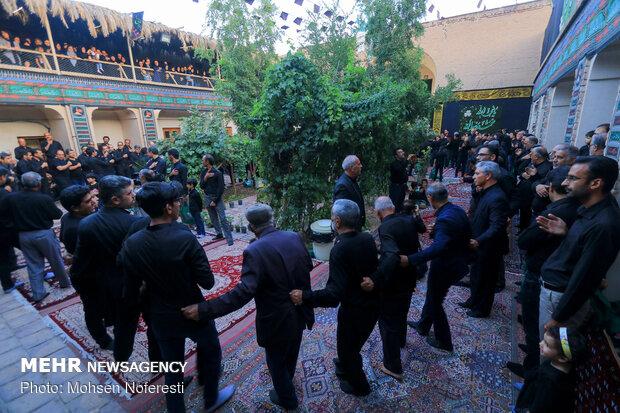 عزاداری عاشورای حسینی در حسینیه ته گود بیرجند