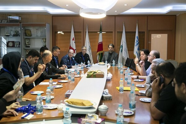 جلسه هماهنگی کمیتههای کنترل و برگزاری مسابقات آسیایی برگزار شد