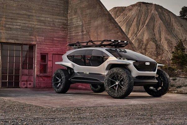 آئودی خودروی مفهومی آفرودی مجهز به پهپاد عرضه کرد