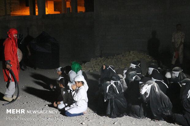 شام غریبان امام حسین(ع) در هشت بندی هرمزگان