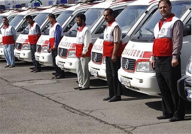 استقرار ۲۱ پایگاه امداد و نجات جادهای در مسیر تردد زوار اربعین