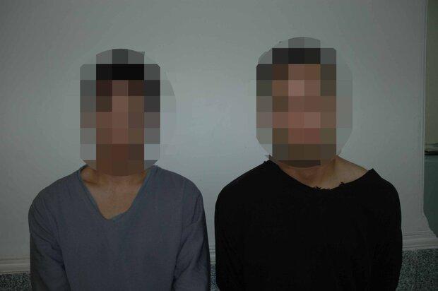 باند زورگیران عابربانکی دستگیر شدند
