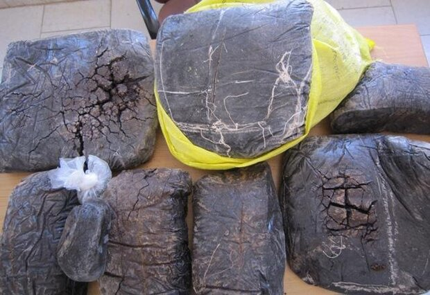 1 ton of drugs seized in Fars province on Saturday