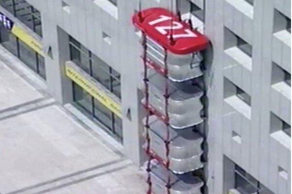 آسانسور تاشو برای مواقع اضطراری و خطر
